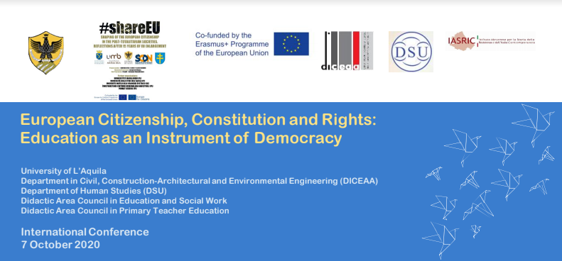 European Citizenship, Constitution and Rights: Education as an Instrument of Democracy